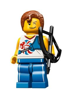 Agile Archer Team GB Olympic Minifigures All Minifigure packets will be opened to guarantee the correct Minifigure – Comes complete with opened packets leaflet and accessories