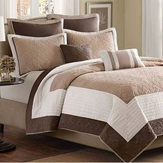 Madison Park Dartmouth 5-piece Coverlet Set | Overstock.com Shopping - The Best Deals on Bedspreads