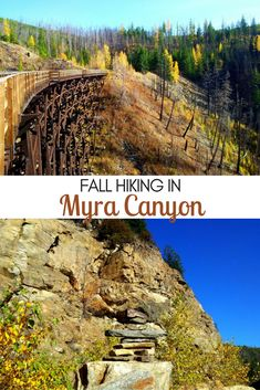 Hiking the Myra Canyon trestles is a must do experience while in the Kelowna area! Here's more about our hiking experience + everything you need to know Columbia Outdoor, America And Canada, North America, Canadian Travel, Hiking Trails, British Columbia, Cool Places To Visit, Day Trips, Adventure Travel