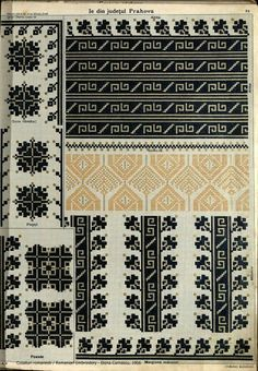 Folk Embroidery, Embroidery Fashion, Beaded Embroidery, Cross Stitch Embroidery, Embroidery Patterns, Crochet Patterns, Palestinian Embroidery, Canvas Designs, Cross Stitch Charts