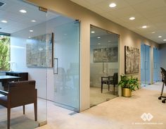 oonference room glass doors | ... glass cubicles to full glass enclosed offices and conference rooms