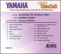 Johnny Cash - American III: Solitary Man - Smart PianoSoft