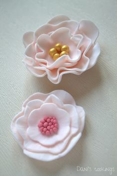 how to make icing flowers easy