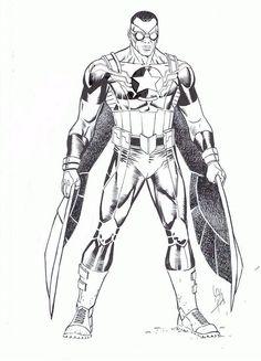 Sam Wilson - The New Captain America Design