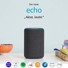 All-new Echo Gen)- Smart speaker with Alexa- Charcoal – Latest Smart Device Shop – smartgames Amazon Echo, Best Amazon, Alexa App, Alexa Echo, Echo Echo, Bass, Beats Pill, Tela, Shopping