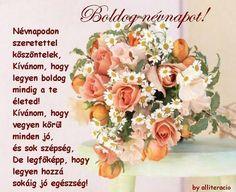 """Képtalálat a következőre: """"névnapi képek"""" Happy Name Day, The Kelly Family, Family Album, Floral Wreath, Happy Birthday, Place Card Holders, Google, Facebook, Quotes"""