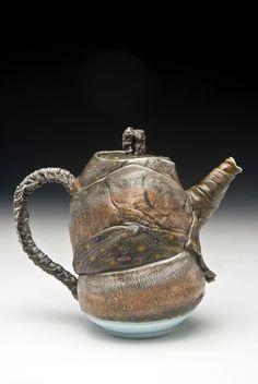 Mark Chuck - Porcelain Fish Teapot via Etsy.