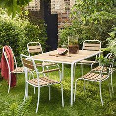 Table de jardin Gloria 160 x 90 cm | POUR LA MAISON | Pinterest