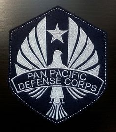 Pacific Rim Regulation PPDC Uniform Patch by panpacificsurplus