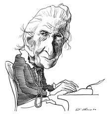 Agatha Christie (1890-1976) I love Miss Marple
