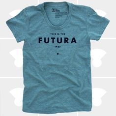 T-Shirt - Futura - Available Women's Sizes: Small, Medium, Large, or XLarge - Tri-Lemon. $25.00, via Etsy.