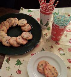 Biscoitos (Cookies) de Chocolate & Cereja