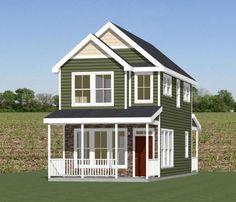 16x30 Tiny House -- #16X30H22 -- 901 sq ft - Excellent Floor Plans
