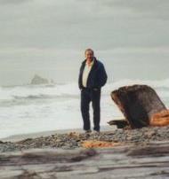 Jim at Rialto Beach