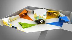 Estande Ipiranga - Convenção 2014 - São Paulo, Brasil on Behance Exhibition Booth, Exhibition Stands, Clinic Design, Environmental Design, Electric Car, Office Interiors, Event Design, Deco, Graphic Design