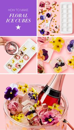 Hosting a spring fete inspired by the Macy's Flower Show? Keep your bubbly chilled in a printed kate spade new york ice bucket with DIY floral ice cubes. Shop now at macys.com!