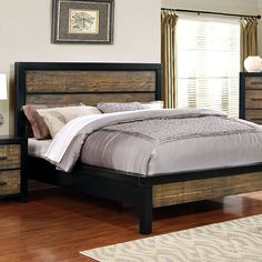 Furniture Of America,Hamberg Eastern King Bed Collection CM7693EK
