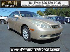 Cars for Sale: 2002 Lexus ES 300 in West Harrison, IN 47060: Sedan Details - 410574726 - Autotrader