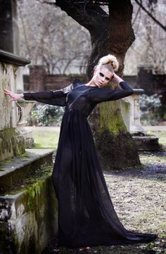 Every Day Is A Runway: graveyard fashion
