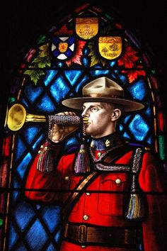 Stained Glass Window in the RCMP Chapel Regina, Saskatchewan, Canada Largest Countries, Cool Countries, Countries Of The World, Stained Glass Art, Stained Glass Windows, Mosaic Glass, Canadian Prairies, Land Of The Living, Saskatchewan Canada