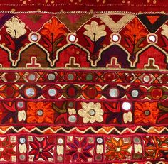 Skirt detail, Sind or Kutch, India