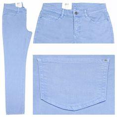 Pastelltöne sind diesen Herbst/Winter total angesagt und gehören somit in jede Garderobe! Die MAC Dream Jeans in pastellblau bringt Frische in Ihren gesamten Look. Überzeugen Sie sich jetzt selbst!