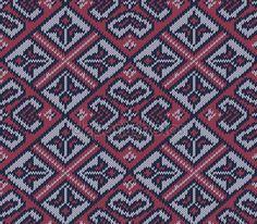 Örme arka planda üç renk Fair Isle tarzında. Dikişsiz kazak modeli. Vektör çizim — Stok Vektör © 0mela #100808756