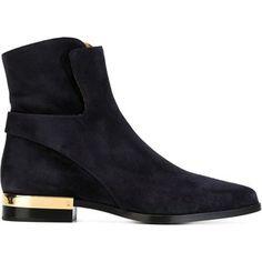 Chloé Sonia Gold Detail Boots