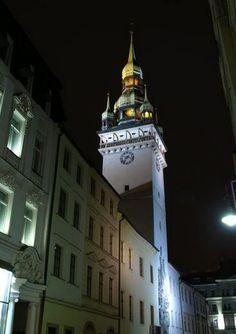Brno - Old City Town Hall (South Moravia), Czechia Central Europe, Town Hall, Old City, Capital City, Czech Republic, Prague, Hungary, Poland, Cities