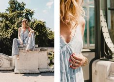 It is mid-May and (even though the weather forecast for the next four days in Vienna looks pretty rainy) soon the real summer nights will be hitting our doors. Jumpsuit Dressy, Top Blogs, Pool Days, How To Look Pretty, Jumpsuits, White Dress, Womens Fashion, Dresses, Kissing Hand