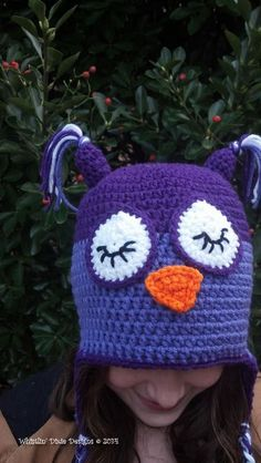 Owl Beanie.