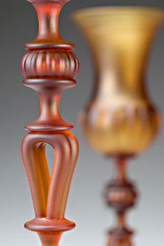 "Kenny Pieper, ""Goblets;"" he's teaching glassblowing at Penland June 9 - June 21, 2013."