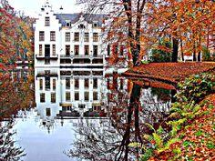 Dutch castle in Staverden. Beautiful!