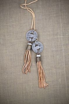 District Lariat by TheSeaChange on Etsy