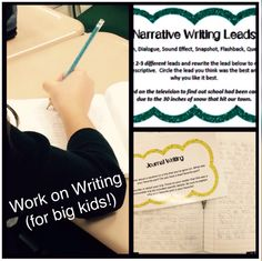 Work on writing for upper elementary grades!!! My kids LOVE these during daily five / writers workshop!
