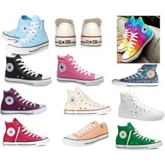 """""""CONVERSE :*"""" by lea2587 on Polyvore"""