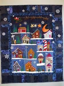 welcome to the north pole quilt - Bing images