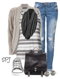 """""""Every girl needs her Chuck's"""" by s-p-j ❤ liked on Polyvore"""