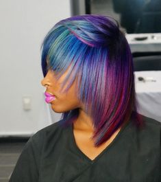 Edgy color combo via @cynthialumzy  Read the article here - http://www.blackhairinformation.com/hairstyle-gallery/edgy-color-combo-via-cynthialumzy/
