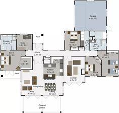 richmond 5 bedroom house plans landmark homes builders nz - House Plans Landmark Homes New Zealand