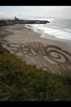 Santa Cruz west cliff!
