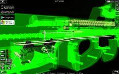 The inner workings of an FN gun Weapons Guns, Airsoft Guns, Guns And Ammo, Futuristic Armour, Gun Art, Submachine Gun, Revolver, Armor Concept, Cool Guns