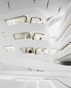 Learning and Library Center, Wien - Zaha Hadid