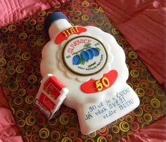 """50 is gone you see, however forever fresh i will be"", Slivovice Cake (photo courtesy of dorty.artmama.cz)"