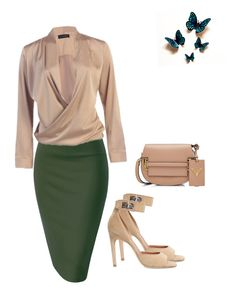 """""""Lunch date at the office"""" by kimberlydalessandro ❤ liked on Polyvore featuring Givenchy and Valentino"""