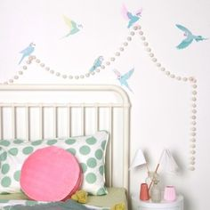 Budgies - wall decals