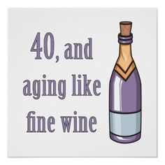Funny 40th Birthday Gift Ideas Posters 60th Gifts 90th Parties 65th