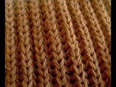 ☀ Английская резинка спицами для начинающих ☀ Английская резинка ☀ //// Knitting for beginners - YouTube