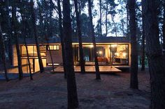 Incredible glass and concrete home in the forest - There's some things I'd change but overall I love it.