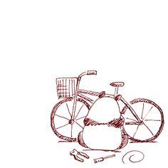 【一日一大熊猫】2015.9.6 自転車は自分で好きにカスタマイズできたり整備できるのが 魅力の一つだった。 忘れてたよ。 でも安全整備だけはしっかりとね。 #パンダ #自転車 http://osaru-panda.jimdo.com